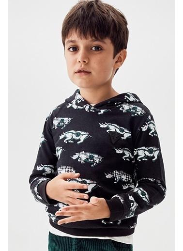 Nebbati Erkek Çocuk Desenli S-Shirt 20Fw0Nb3415 Renkli